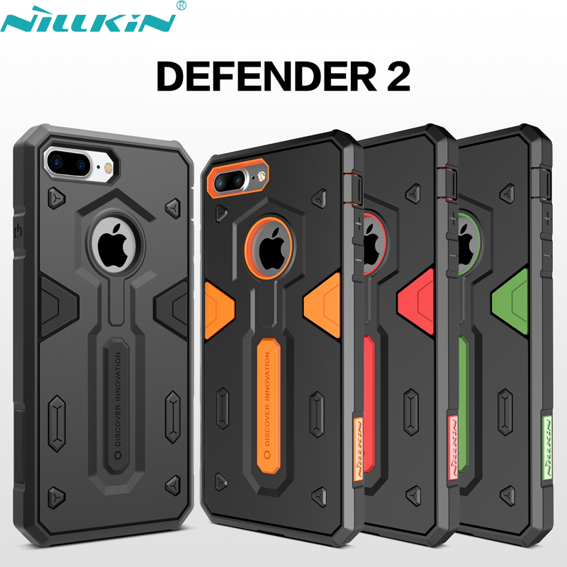 iPhone 7 Plus Case 7Plus NILLKIN Defender II PC TPU Hybrid Protective Anti-knock Back Cover Cases Apple iPhone7