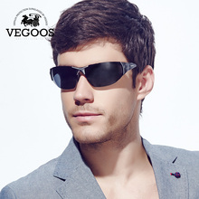 VEGOOS Men Brand Designer  Polarized Sunglasses Sun Glasses Driving Sport Gafas De Sol Man Shield Lunette De Soleil Fish #8025