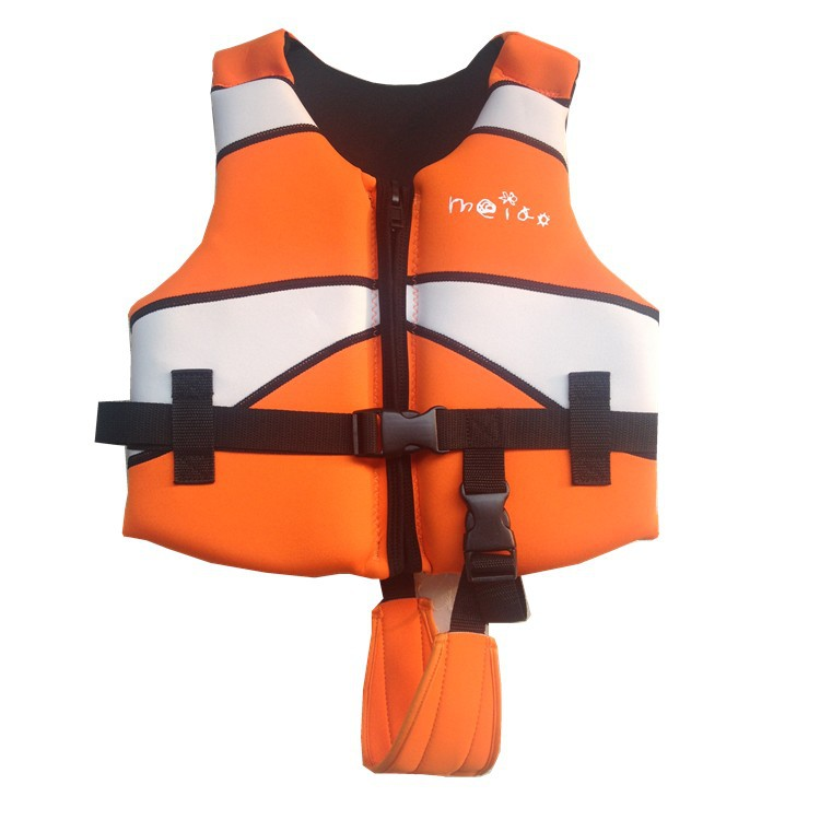 Professional Orange Color Kid and Adult Favorite Water Sport Life Vest Childern Swim Jacket Free Shipping(China (Mainland))
