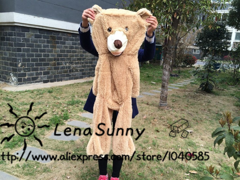 160cm Big Size USA Teddy bear skin Giant Luxury Plush Extra Large Teddy Bear ,Kids Teddy bear Toys(China (Mainland))