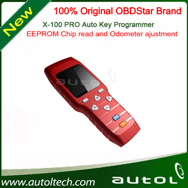 Original Professional OBDStar X100 pro Auto Key Programmer x-100 pro new x100pro EEPROM Chip read and Odometer ajustment(China (Mainland))