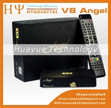 [Genuine] V8 Angel DVB-S2&T2 C Amlogic S805 Android TV BOX Amlogic S805 1GB 8GB Satellite Receiver freesat v7