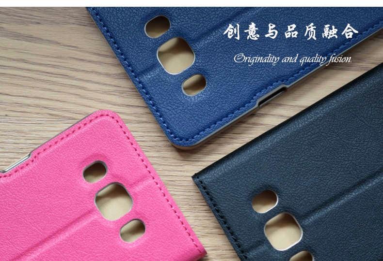 For Samsung Galaxy J7 2016 J710 J710F J710M J710H sm-j710f (2016) Duos Flip Case Fashion thin PU+PC Leather Case Cover