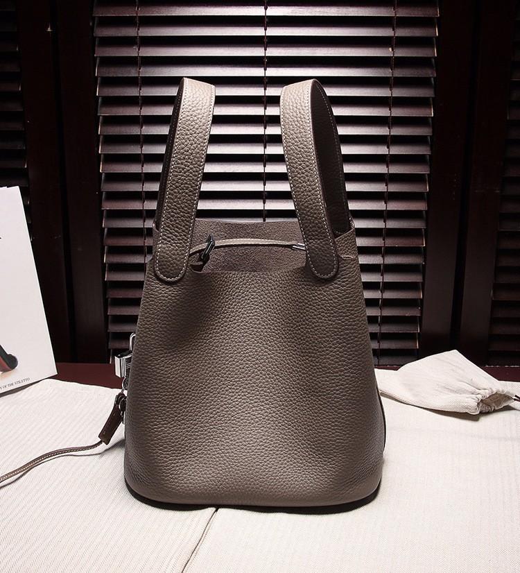 2015 Fashion Casual Women Mini Handbags Bucket Tote Bags Ladies Girl Wristlets LOCK Design Purse Cutout Bags for Travel BG108(China (Mainland))