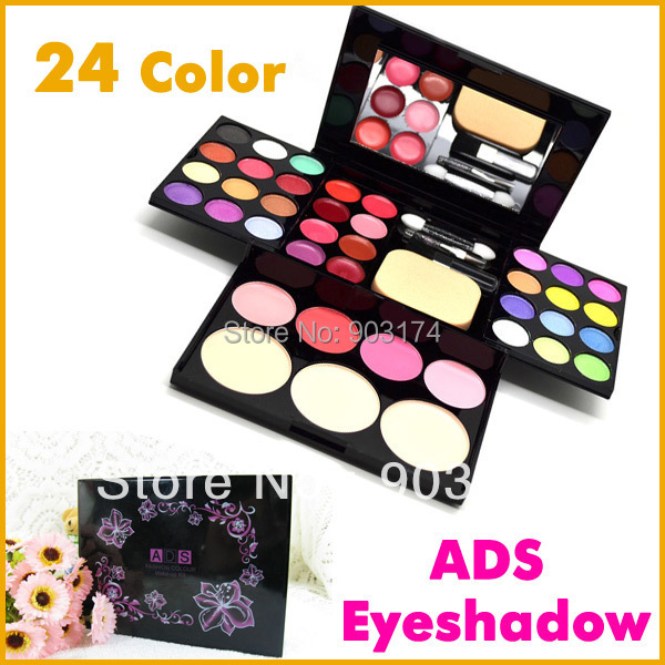 ADS 6328 24 Color Fashion Beauty Eyeshadow Makeup Set Eye Shadow Palette Kit