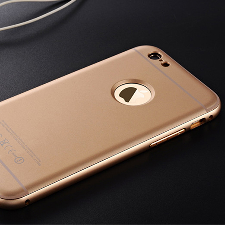Luxury Aluminum Case Plastic Cover For Apple iPhone 6 6 Plus Metal Frame CellPhone Case iPhone6 5 / 5S Cover Capa Celular(China (Mainland))