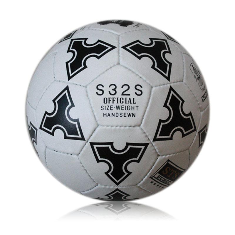 Football 5 ball s32s genuine leather football wear-resistant sew-on handmade(China (Mainland))