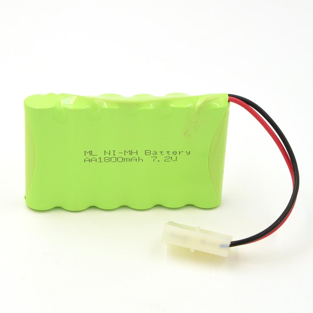 Ni-MH AA Battery (7.2v, 1800 mAh)<br><br>Aliexpress