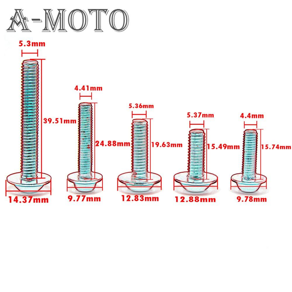 Купить Мотоцикл ветрового обтекателя винта болт винт Для SUZUKI GSXR 600/750 GSX-R 600/750 2004-2005 К4 К5 для Suzuki РФ 600R 1993