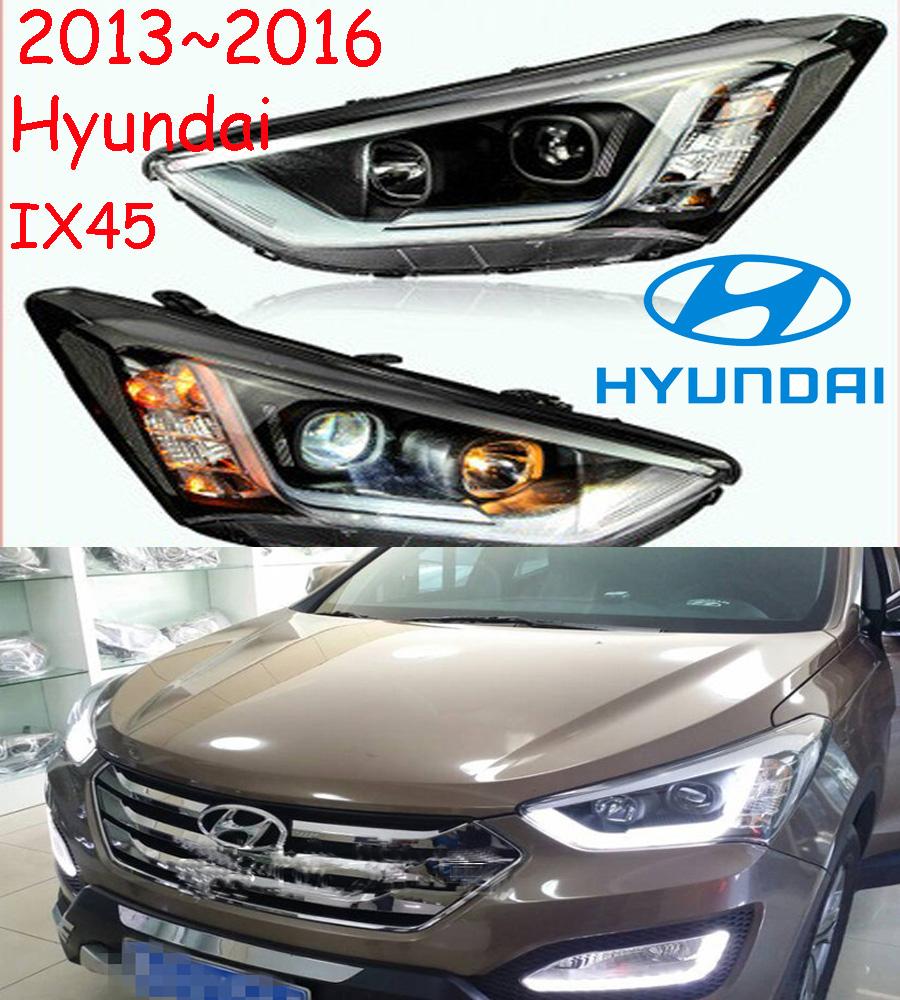 New arrival+Free ship!2013~2014 Hyundai Santa Fe IX45 headlight with xenon projector lens+HID BULB;optional ballast,super good!<br><br>Aliexpress