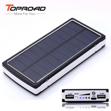 16000mAh Solar Power Bank Universal Portable LED Emergency Flashlight Solar Charger Bateria Externa for Cell Phone Tablet Laptop(China (Mainland))