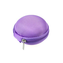 Best Price Mini Zipper Earphone Headphone SD Card Storage Bag Box Carrying Pouch(China (Mainland))