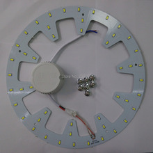2 sets/lot 12W 18W 24W white/warm white/nature white LED panel board light 5730/5630 Round Ceiling circular light+driver 987(China (Mainland))