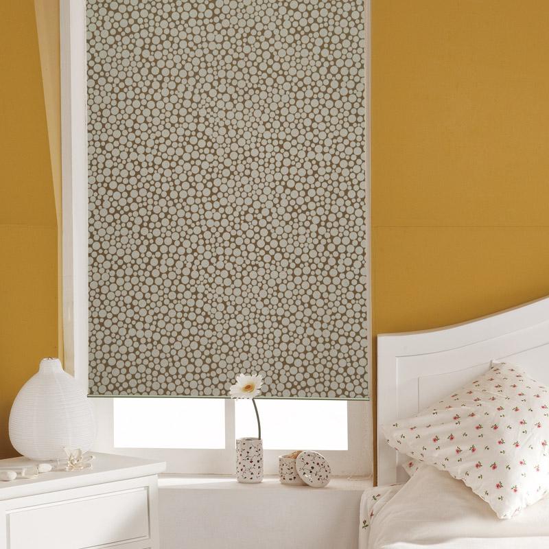 roller shutter bathroom waterproof curtain full dodechedron lift beads