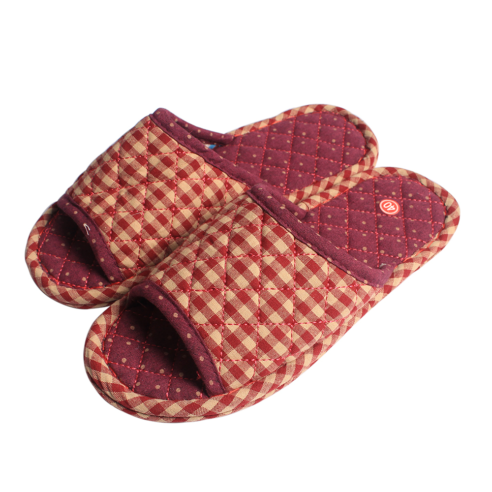 Top Quality Plad Pattern Ladies Indoor Slipper Shoes Women ...