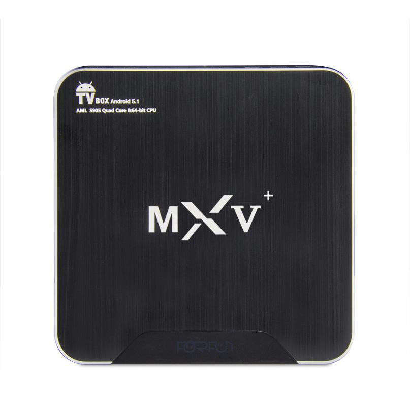 Top Quality MXV+ Android 5.1 TV Box Amlogic S905 64-bit Quad Core KODI 16.0 1G/8G MXV Plus FE16<br><br>Aliexpress