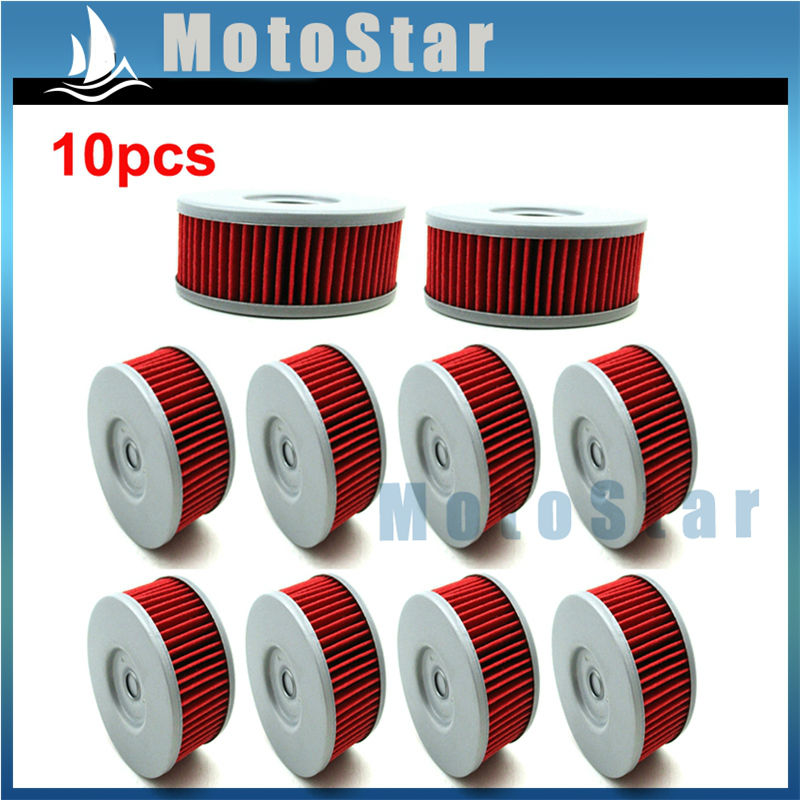 10x Oil Filter For Suzuki SP400 DR350ES TU250X SP250 Jonathan 350 Marauder VL250LC(China (Mainland))