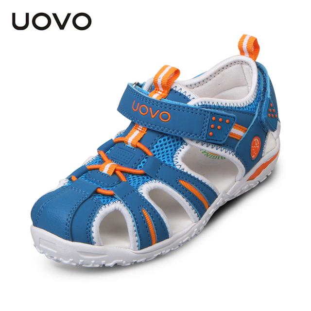 Uovo новые дети пляжные сандалии мальчиков, Сафти одежда обувь для девочек, Non-slip ...