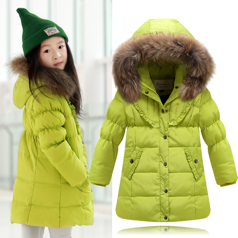 2015 Brand Fashion Childrens Down Jacket Warm Girls Winter Coat 3-11 Years Teenage Girls Outerwear Kids Winter Clothes For Girl<br><br>Aliexpress