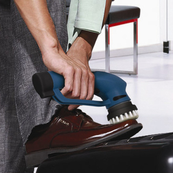 Hand electric household shoe polisher shoe polisher shoes good helper 08