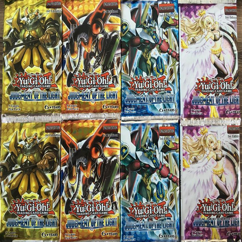 72 pcs/lot Yugioh Card Y805 Judgment Of The Light Look For The Legendary Ghost English Version Family Entertainment Card Kid Toy(China (Mainland))