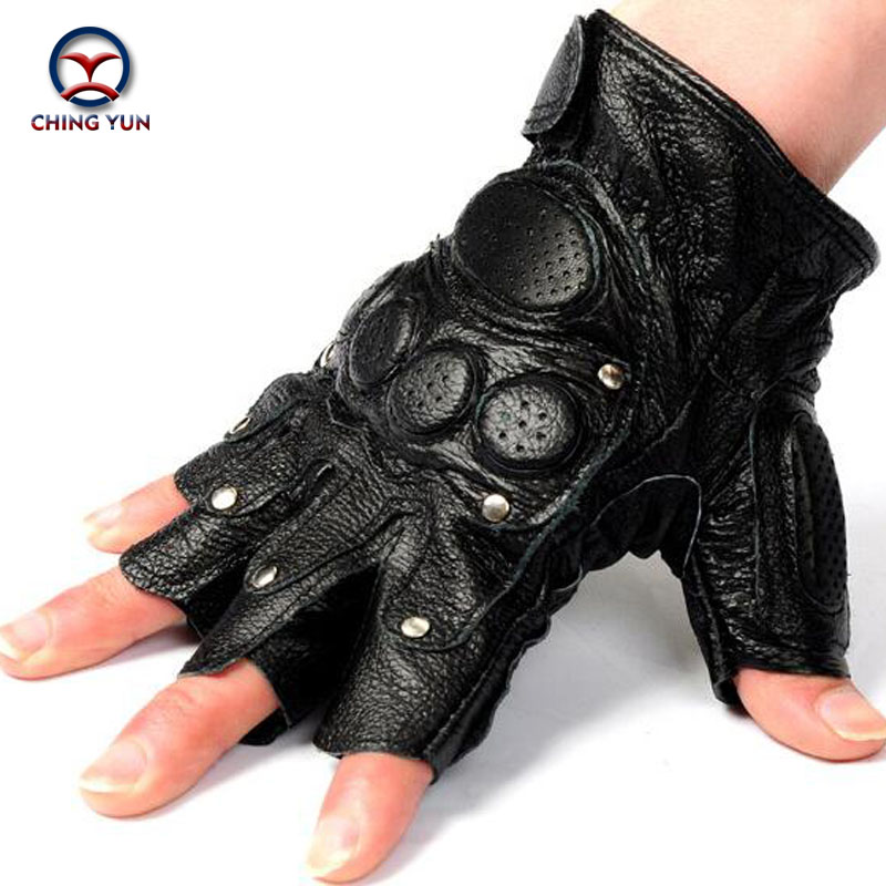 Free shipping!!!tactical gloves male semi-finger protective ride Non-slip leather gloves Fighting gloves Mitts(China (Mainland))