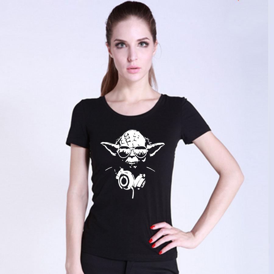 Cheap Arrival Keep Calm T Shirt O neck Short sleeve Star Wars Women T Shirts Cheap
