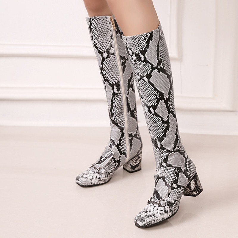 Здесь можно купить  hot sale leisure winter white pink ankle boots square toe low square heels real leather women shoes chains zip plush boots  Обувь
