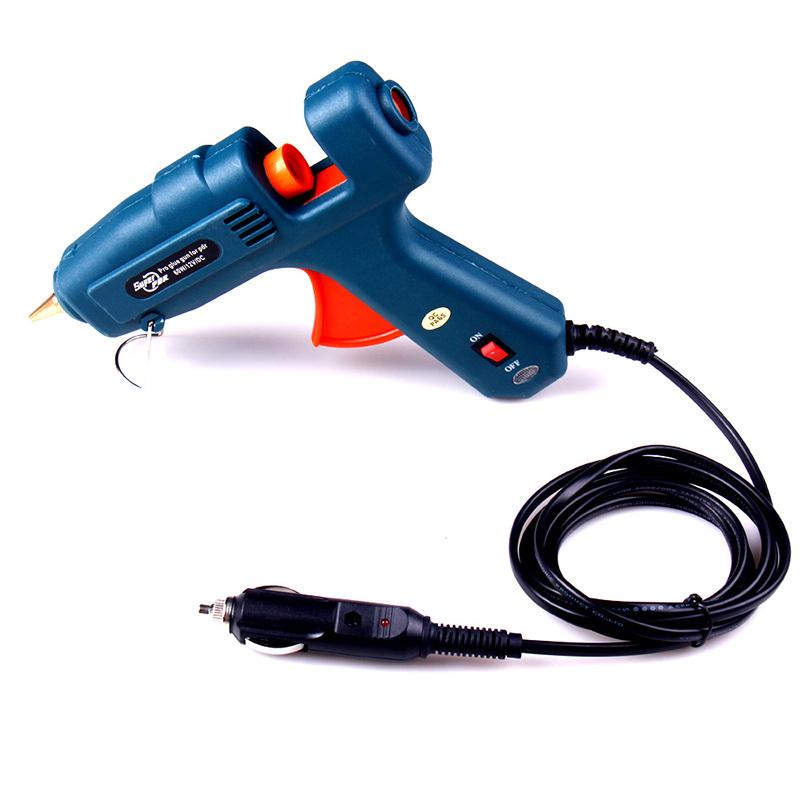 Newest making Auto repair Professional using 24w glue gun Car charger plug hot glue gun best heat gun<br><br>Aliexpress