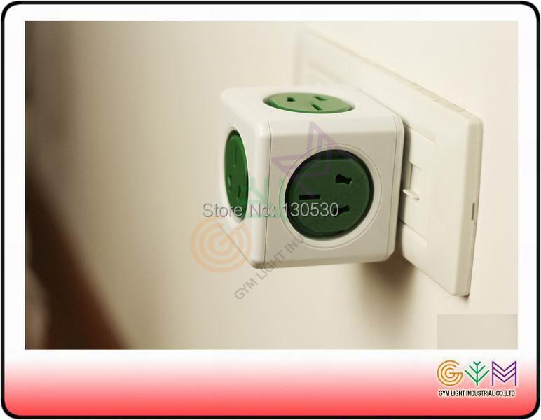 Gym 103a Allocacoc Powercube Plugs Multifunctional Magic