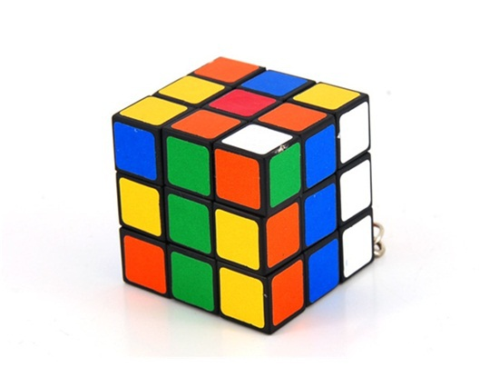 Tamch Mini Keychain 3*3*3 case for rubik Cube Puzzle Magic Game Toy(China (Mainland))