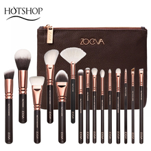 ZOEVA Profession Makeup Brushes Wool Fiber 8/15 pcs Face Eyes Cosmetic Tools With Soft Bristles(China (Mainland))
