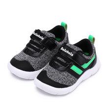 Balabala طفل الأطفال أحذية رياضية الإضاءة الاطفال أحذية للبنين خفيفة الوزن لينة أسفل عدم الانزلاق مقاومة للاهتراء الطفل أحذية رياضية(China)