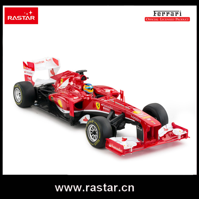 Rastar licensed R/C 1:18 Ferrari F1 injection mould body rc drift track vehicle 53800(China (Mainland))