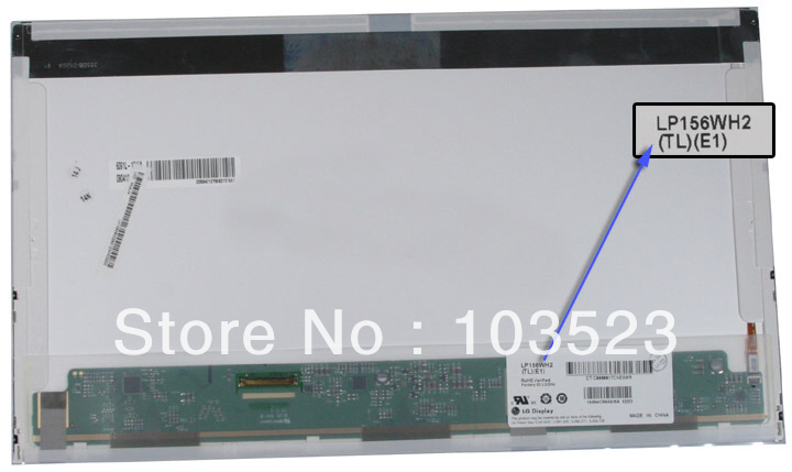 """LP156WH2 (TL)(E1) NEW 15.6"""" HD LED LCD Laptop Replacement Screen/Display LP156WH2-TLE1 LP156WH2 TLE1(China (Mainland))"""