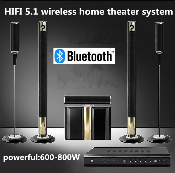 Hifi 5 1 wireless home theater system powerful 600 800w - Salon hifi home cinema ...