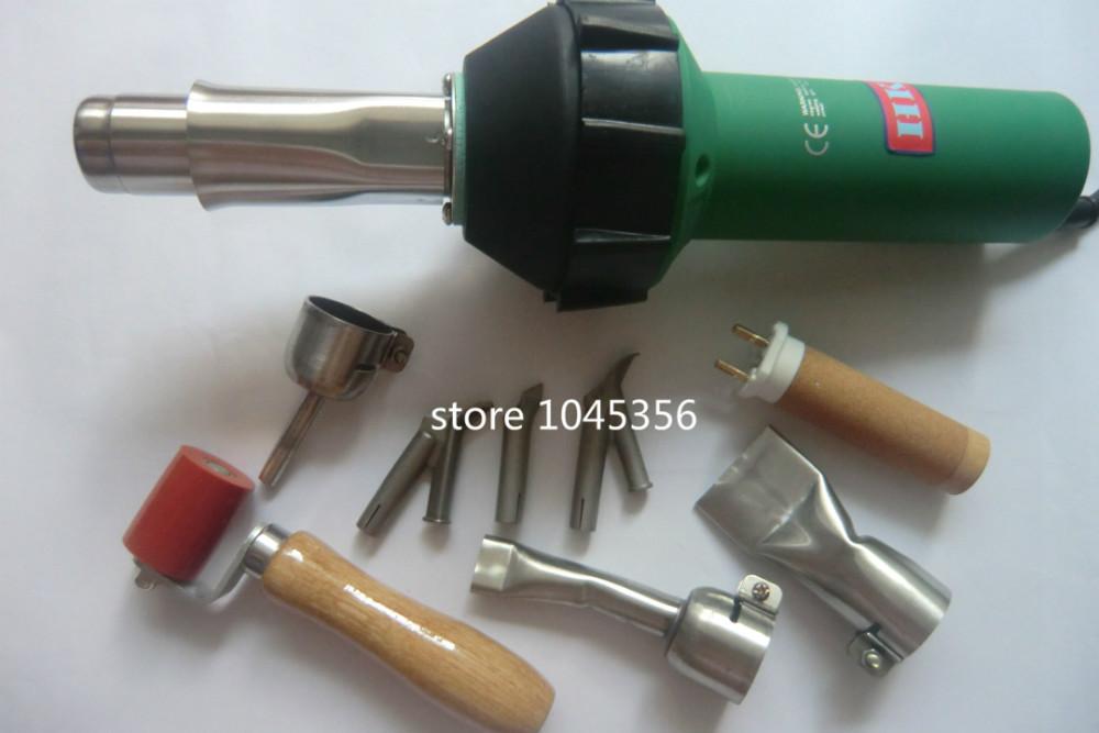 DHL free shipping 2015 Soldador De Ar Quente Ultrasonic Welder New 1600w PE PVC Plastic Welder Hot Air Heat Sealing Gun(China (Mainland))