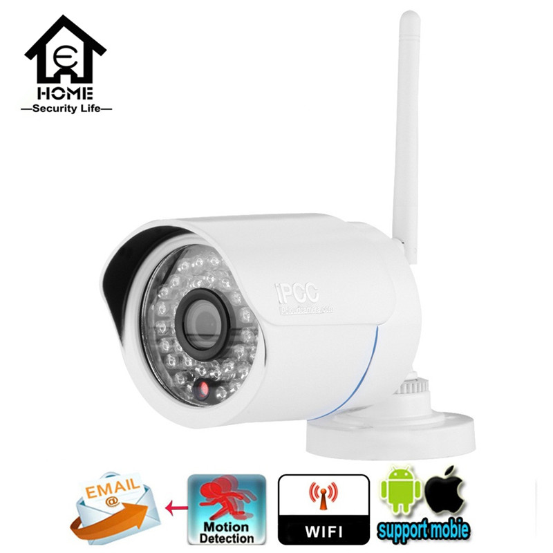 HD 720P CCTV camera 1.0 Megapixels 36 IR LEDs Night Vision Outdoor Security IP Camera P2P ONVIF PC&Phone view Home Surveillance(China (Mainland))