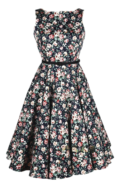 Женское платье Dressation 2015 50s 60s DS3008