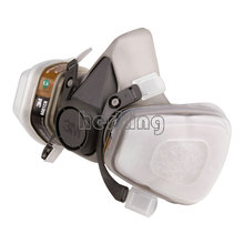 N95 6200 7 Piece Suit Respirator Painting Spraying Face Gas Mask Free Shipping