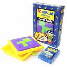IQ Tangram Puzzle Logic Brain Teaser Educational Tetris Puzzles Game Toys Gift for Children Kids(China (Mainland))