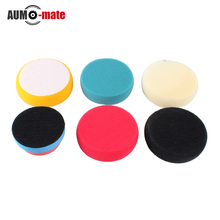 5+1 Soft Auto Car Waxing Sponge Buffing Pad Kit for Car Polishing Wax Wheel Car Tools(China (Mainland))
