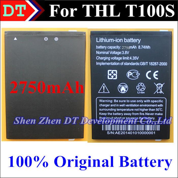 Батарея для мобильных телефонов 100% original THL 100% 2750 THL T100S thl 4400 в калининграде