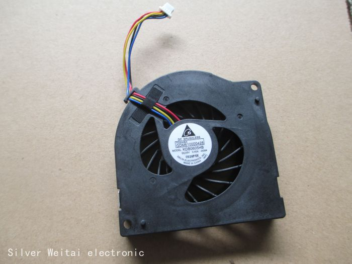 For Toshiba Tecra A8 A11 CPU Cooling Fan KDB0605HB -9G64 KDB0605HB 9G64 GDM610000428 Bare Fan in Computers/Tablets(China (Mainland))