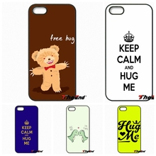 Sony Xperia X XA M2 M4 M5 C3 C4 C5 T2 T3 E4 E5 Z Z1 Z2 Z3 Z5 Compact keep calm hug Art Print Hard Phone Case Shell - The End Cases Store store