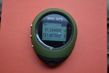 Handheld Mini GPS Receiver keychain Navigation POI walking running swimming skiling riding biking outdoor sports digital compass(China (Mainland))