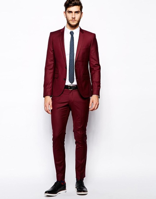 Popular Navy Red Suit Men-Buy Cheap Navy Red Suit Men lots from ...
