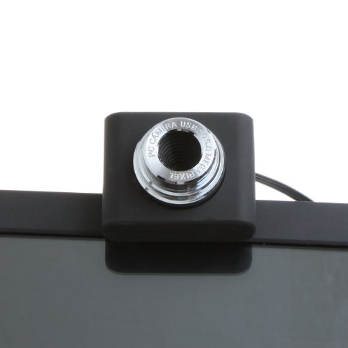 GTFS-Hot Sale USB 2.0 50.0M Mini PC Camera HD Webcam Camera Web Cam for Laptop Black(China (Mainland))