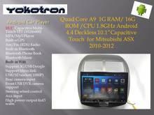 """YOKOTRON"" 10.1"" Touch Android 4.4 Car Radio Autoradio for Mitsubishi ASX Citroen C4 Aircross Audio Stereo +GPS Navigation(China (Mainland))"