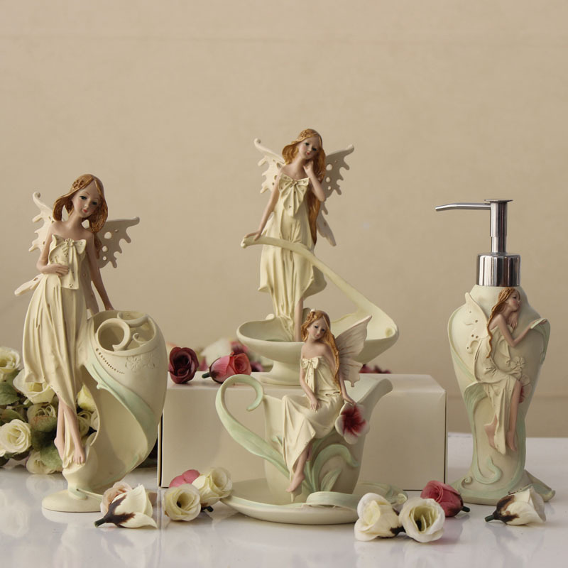 Online get cheap angel bathroom set for G style bathroom accessories